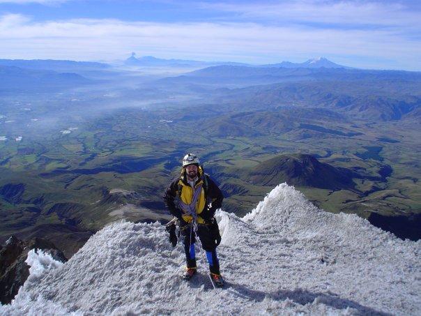 Me on Illiniza Sur; Ecuador