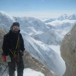 Me at the edge of the world, Camp 14 Denali